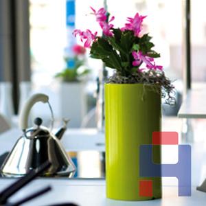 玻璃钢办公花盆花器