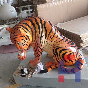 老虎造型雕塑