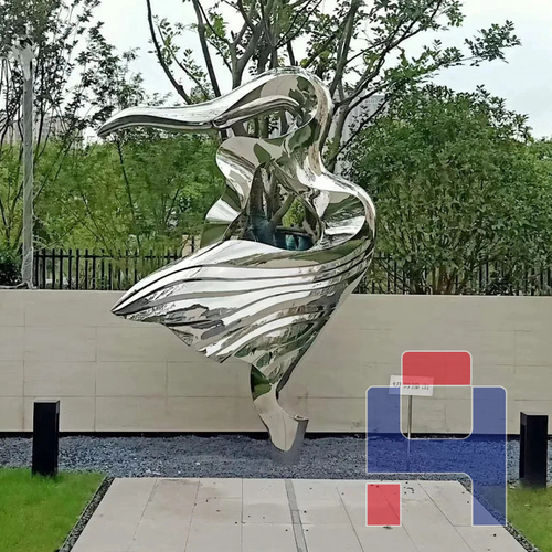 不锈钢园林景观雕塑