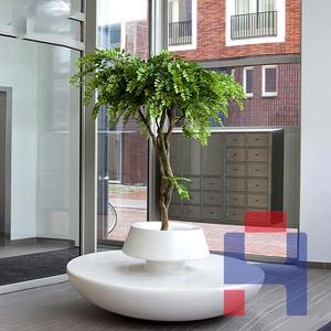 创意玻璃钢圆形树池