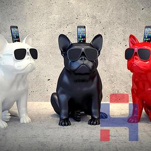 宠物狗雕塑