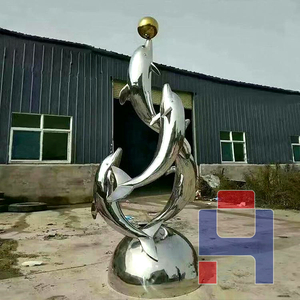 创意不锈钢雕塑造型