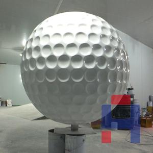 高尔夫球雕塑